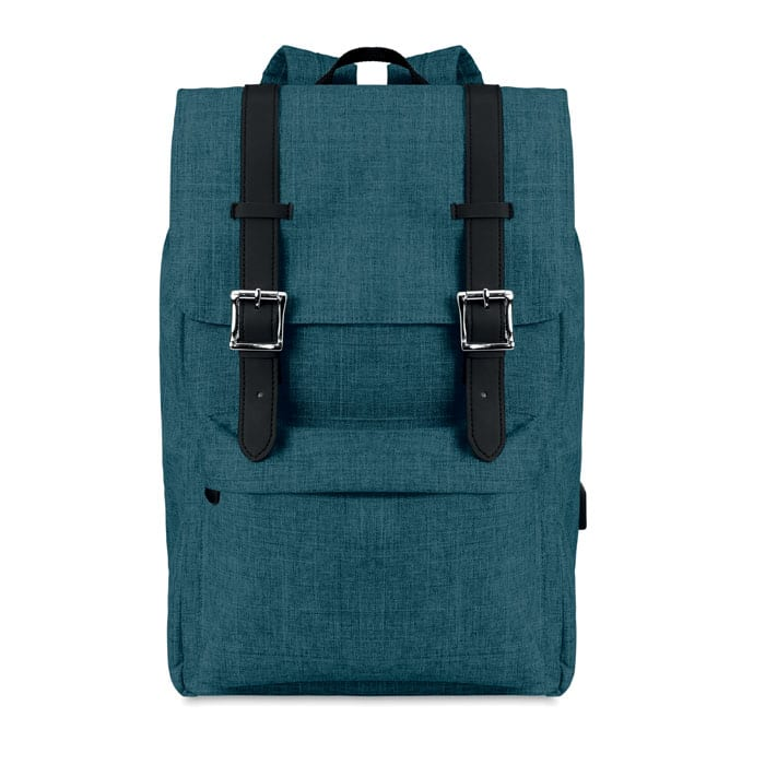 Two tone Polyester Computer Backpack