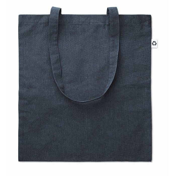 Two tone recycled shopping bag