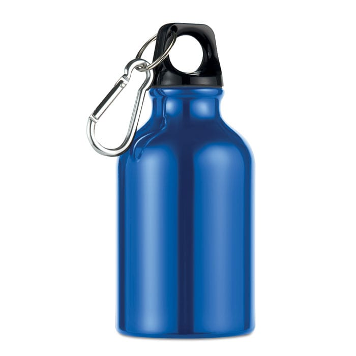 blue Single wall aluminium bottle
