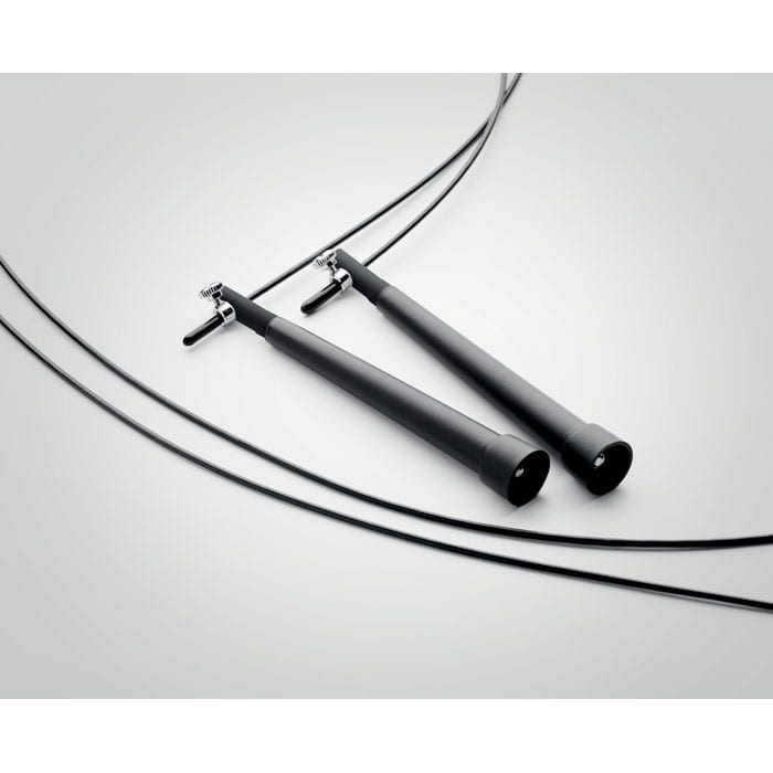 Adjustable speed jumping rope