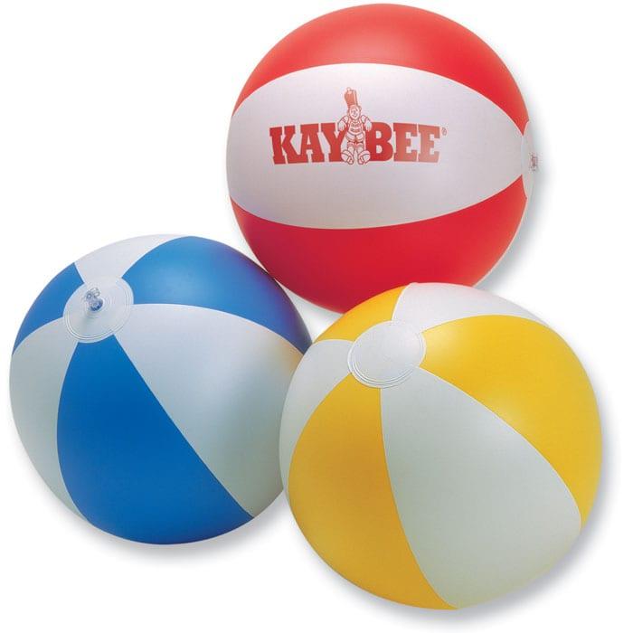 Inflatable beach ball