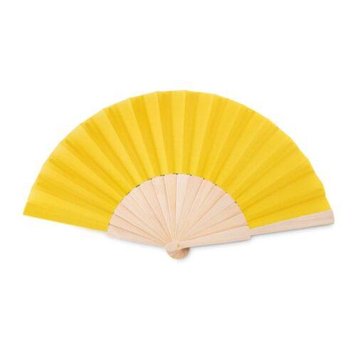 Manual hand fan in wood