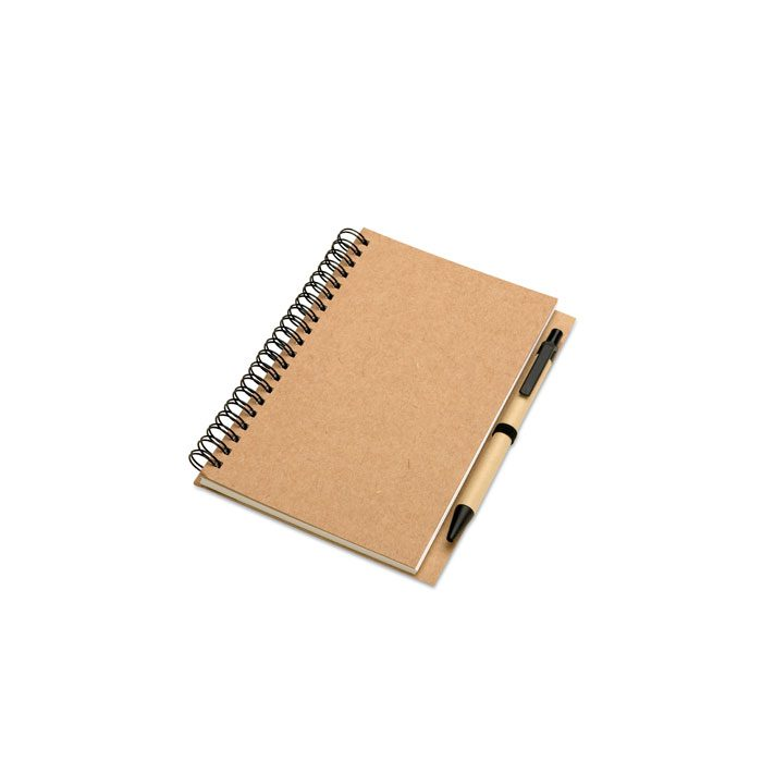 Small Recycled notebook and pen