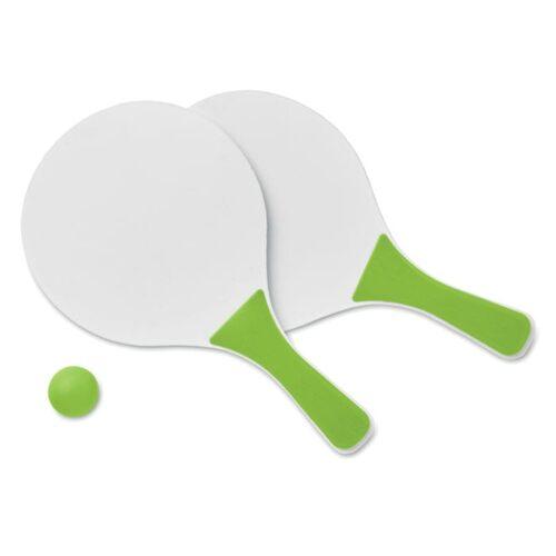Small beach tennis set
