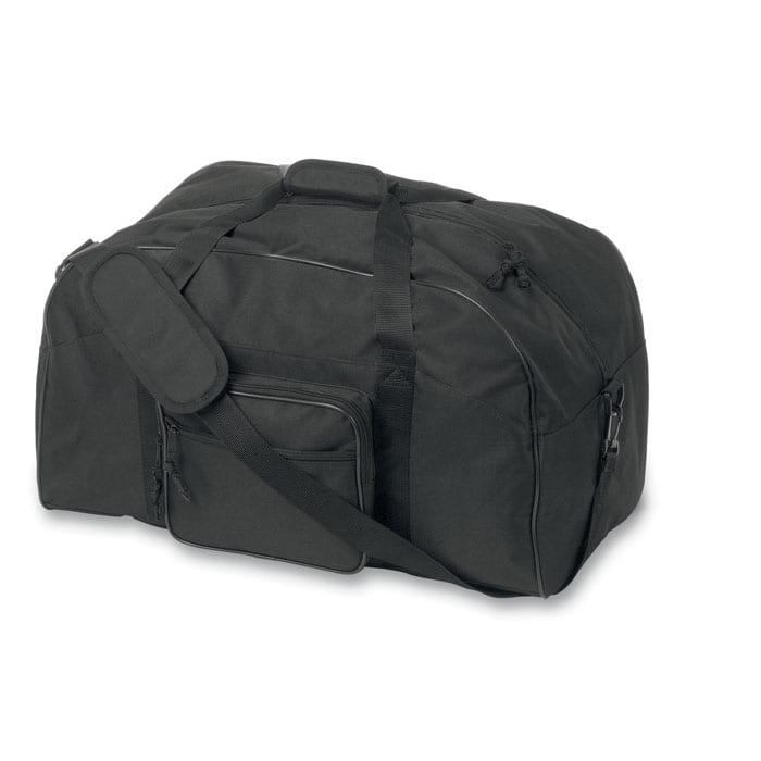 Sport or travelling bag with front pocket