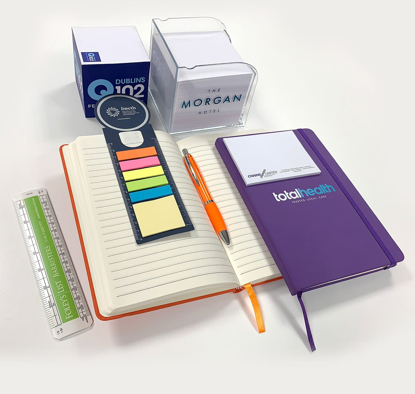 Promotional Notebooks, Note pads and pens
