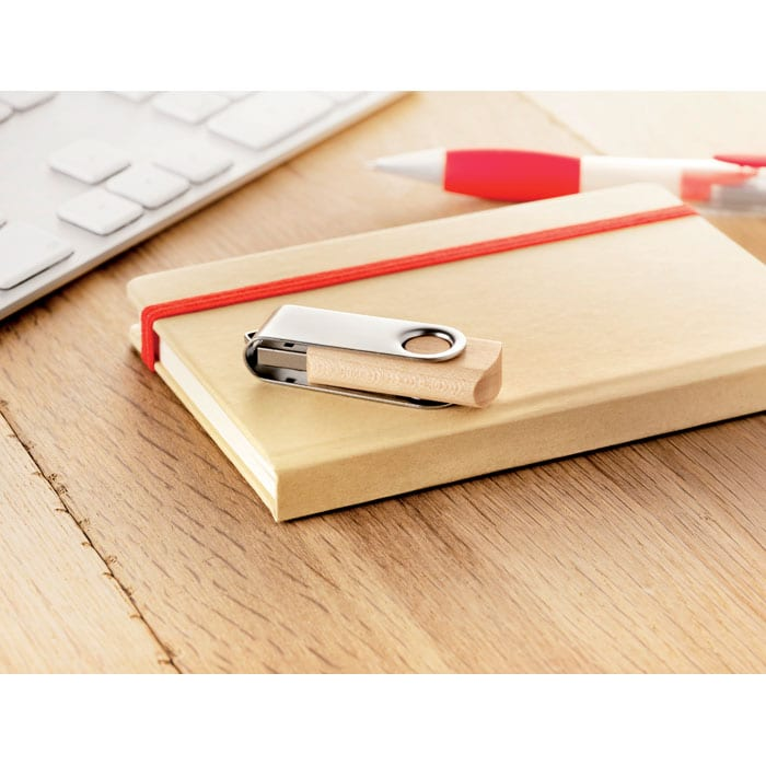 USB Flash Drive with wooden casing