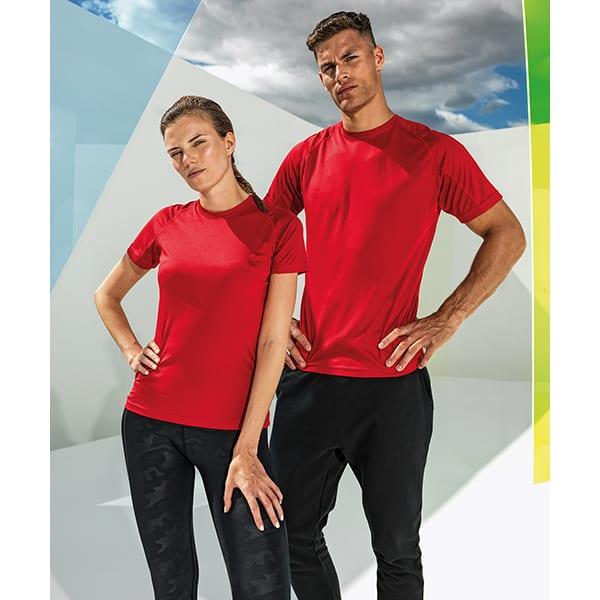 TriDri panelled tech t-shirt
