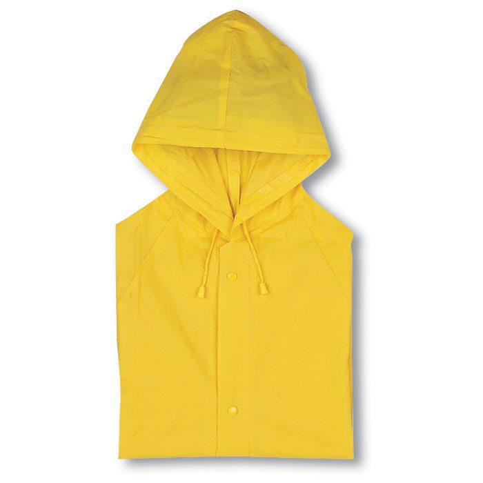 PVC Raincoat with hood