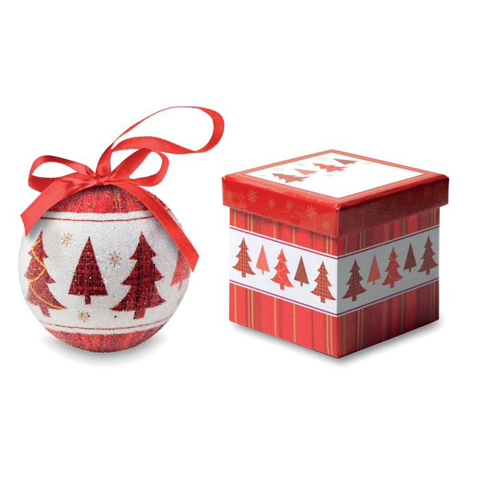 christmas bauble in a box